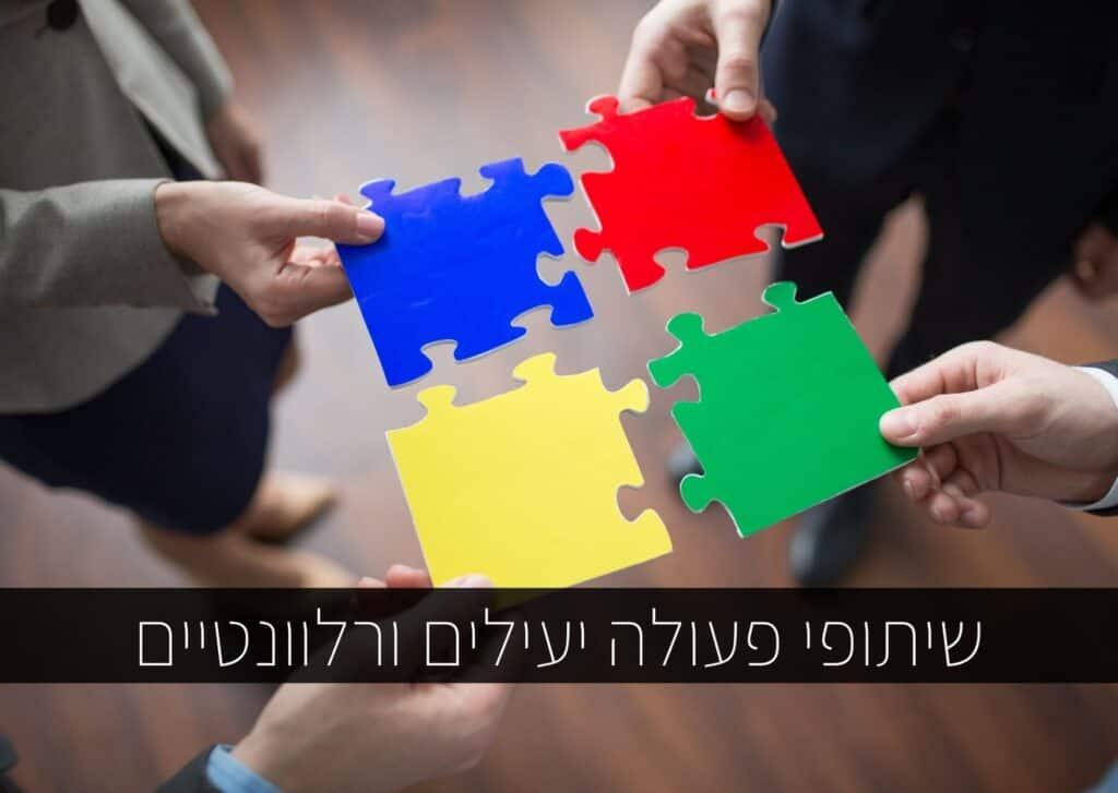 שיתופי פעולה יעילים ורלוונטיים